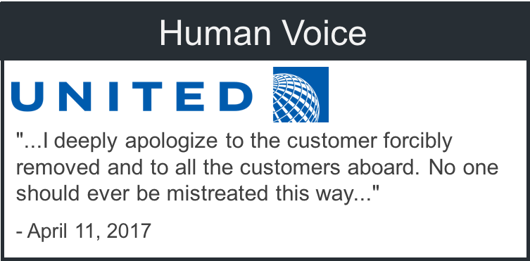 Human voice example from United