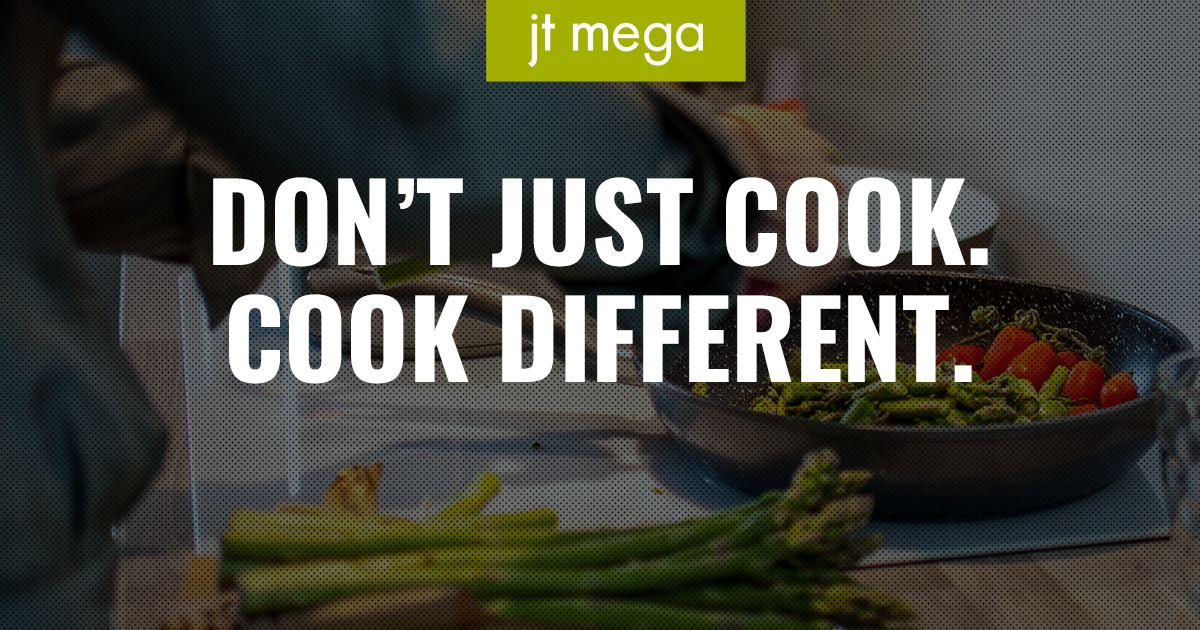 Don't Just Cook. Cook Different.