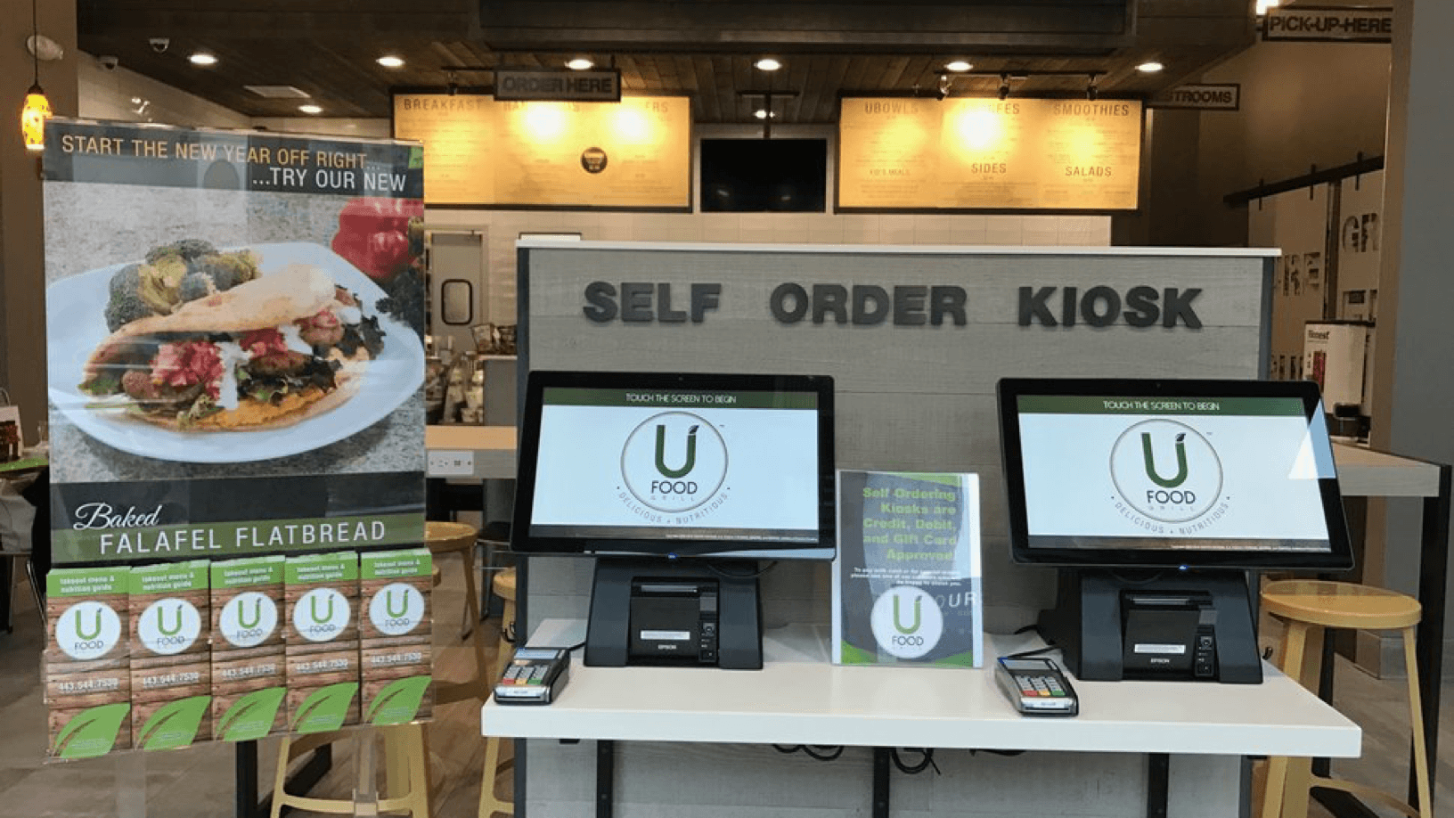 UFood Facial Recognition Kiosk