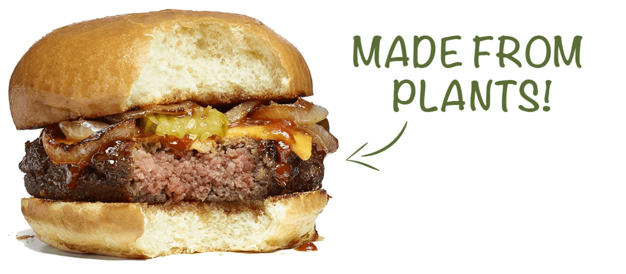 The Impossible Burger is made from all natural ingredients like wheat, coconut oil and potatoes, but it has very unique characteristics.
