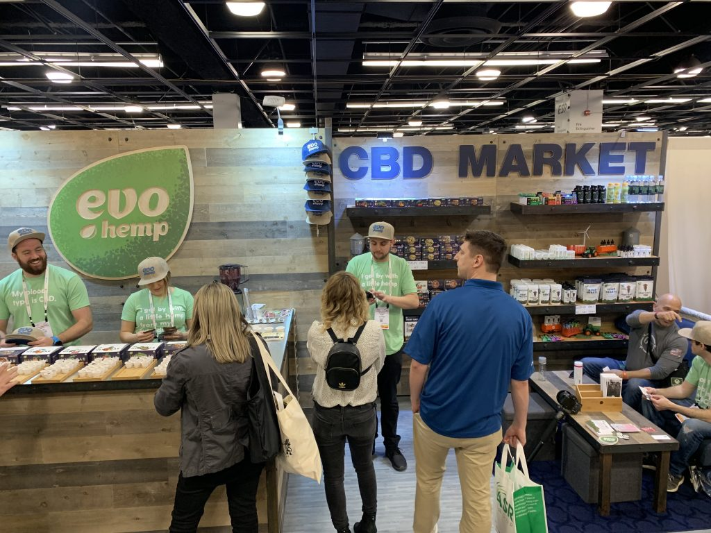 CBD had a massive a presence at Expo West 2019