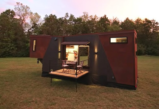 Dunkin' Donuts' experiential tiny house