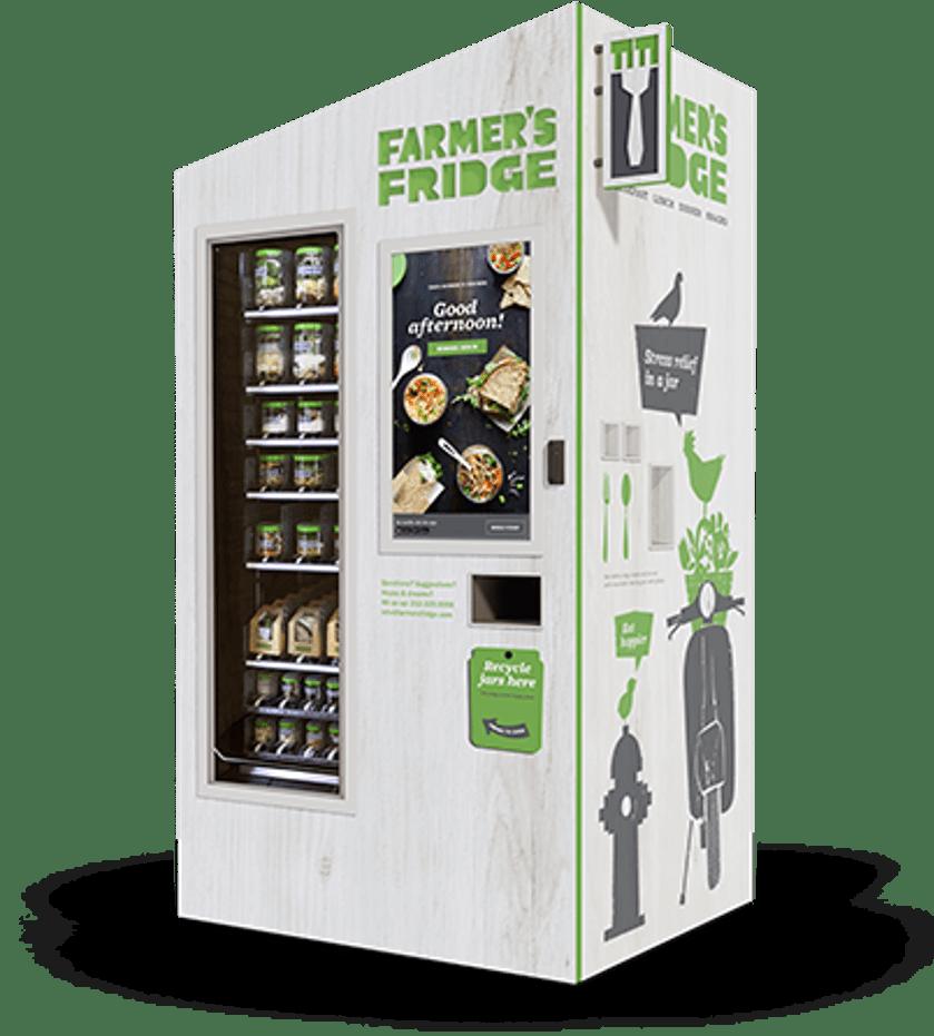 Farmer's Fridge refrigerator