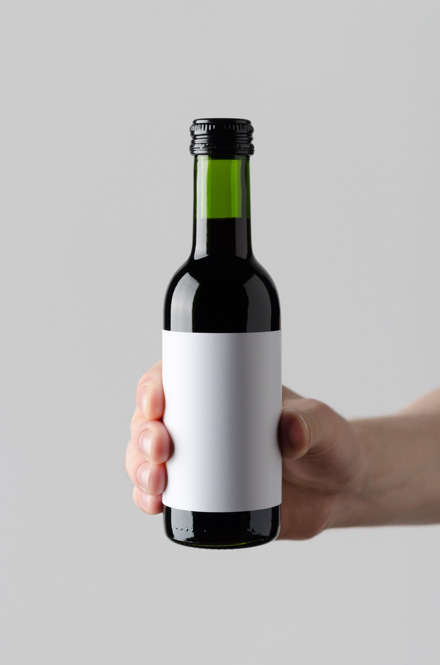 image of a 375ml wine bottle
