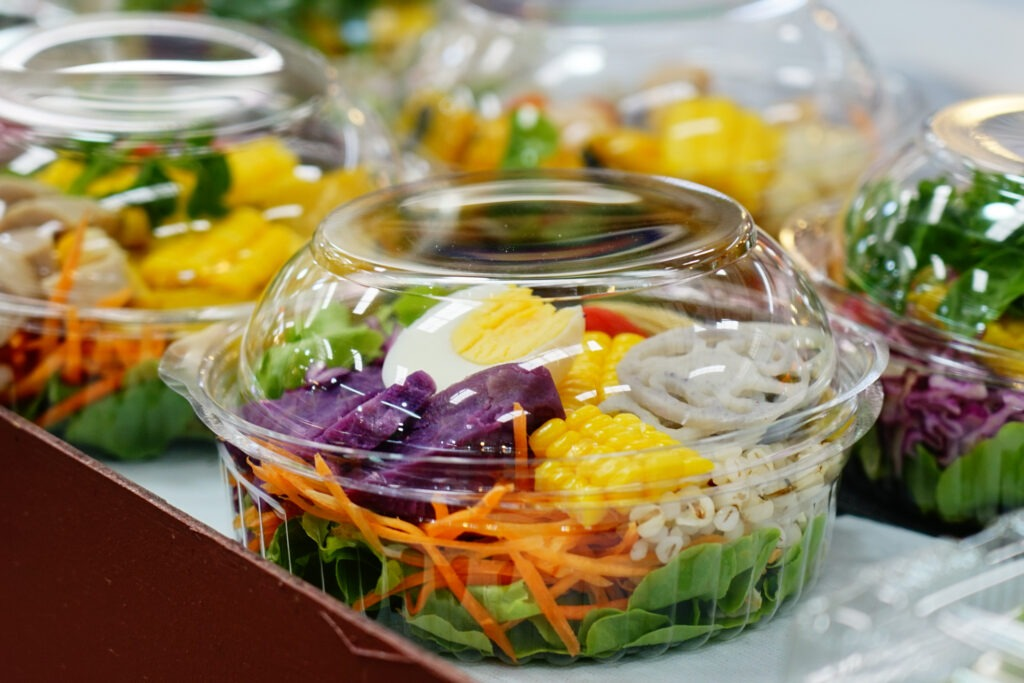 prepackaged salad