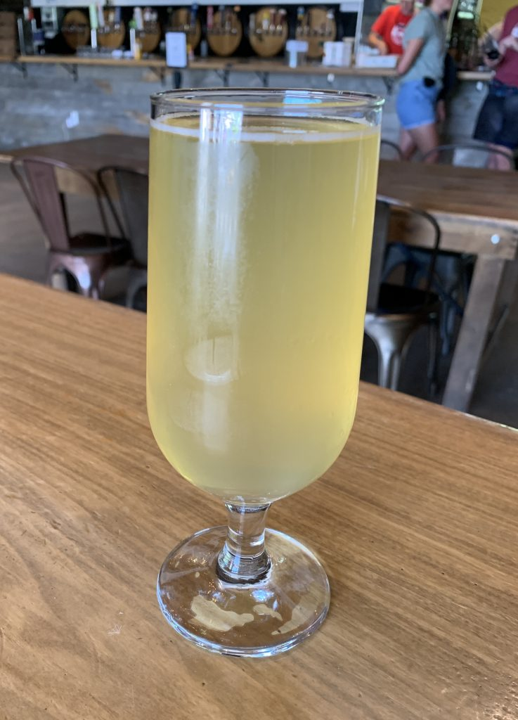Boochcraft Apple Jasmine on tap at Rayback Collective in Boulder, CO
