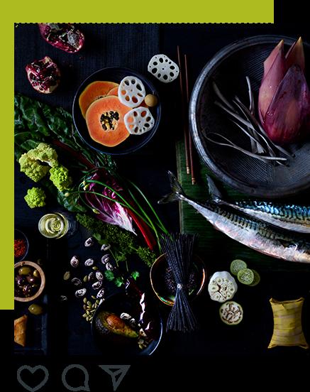 Example of JT Mega award-winning food photography for use on social media